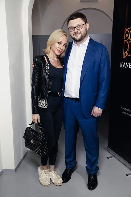 Кира Сакарелло и Василий Церетели