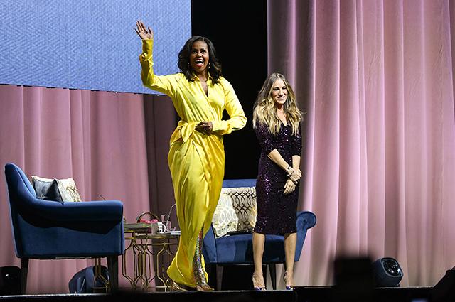 Мишель Обама и Сара Джессика Паркер