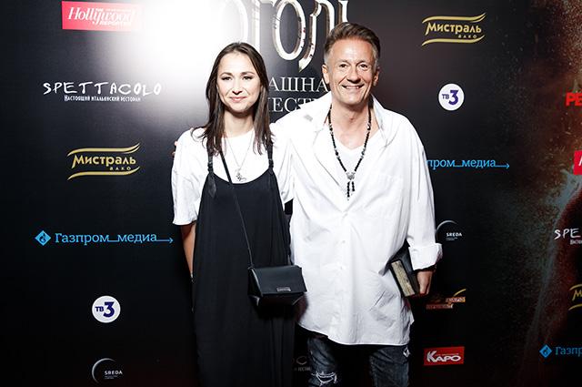 Анастасия Чернова и Олег Меньшиков