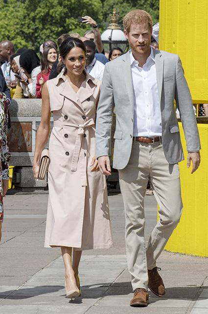 Меган Маркл и принц Гарри побывали в гостях у Джорджа и Амаль Клуни на озере Комо