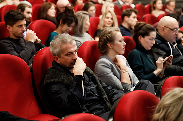 Ксения Собчак, Равшана Куркова, Мария Андреева и другие на премьере фильма «Дом, который построил Джек» в Москве