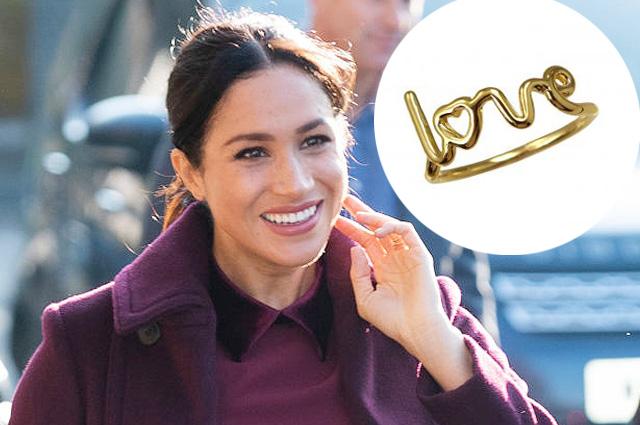 Меган Маркл надела необычное для герцогини кольцо и вновь нарушила правила