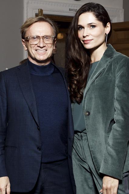 Борис Белоцерковский и Полина Аскери впервые вышли в свет вместе после свадьбы