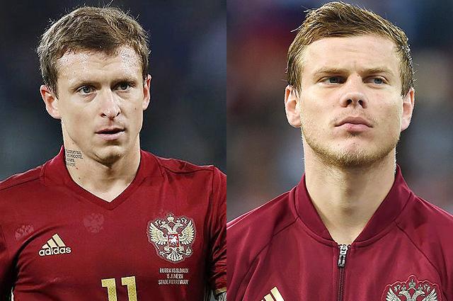 Следствие ужесточило статью для футболистов Павла Мамаева и Александра Кокорина