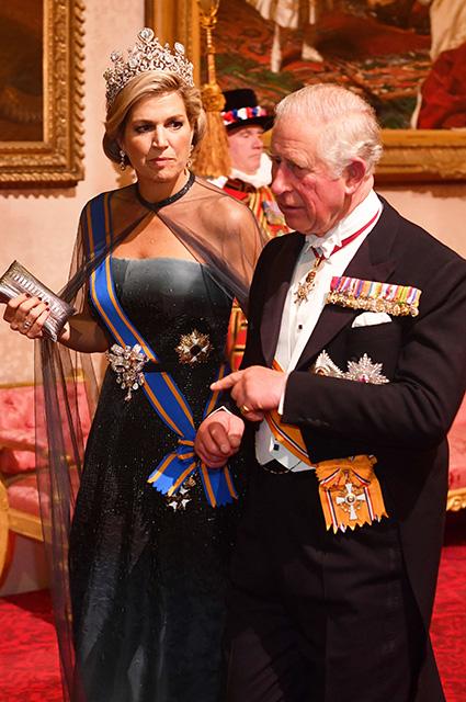 Королева Максима и принц Чарльз