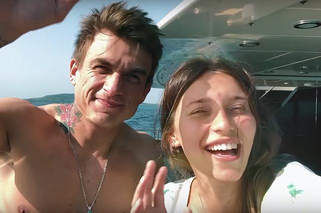 Влад Топалов подарил Регине Тодоренко песню в честь рождения сына и снял его в клипе