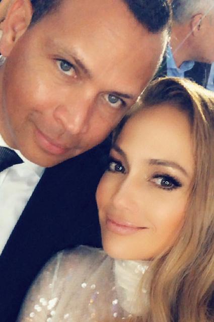 Алекс Родригес и Дженнифер Лопес