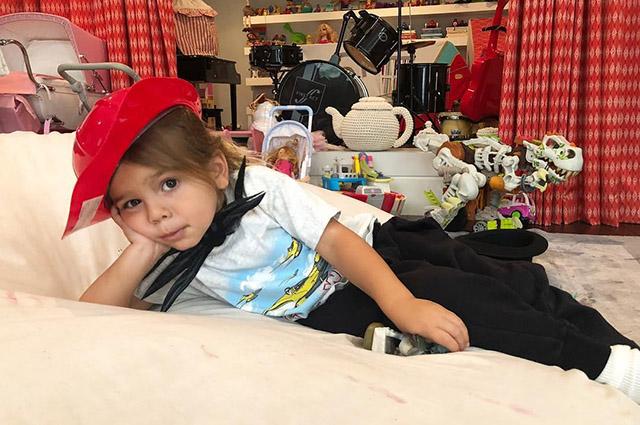 Кортни Кардашьян раскритиковали в сети из-за ее младшего сына Рейна