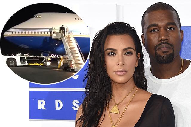Ким Кардашьян и Канье Уэст показали свой полет на частном самолете и спровоцировали скандал в соцсети