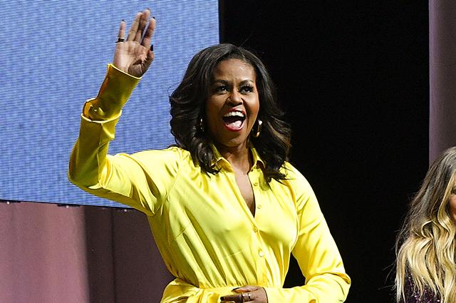 Мишель Обама обошла Хиллари Клинтон в рейтинге самых популярных женщин в США