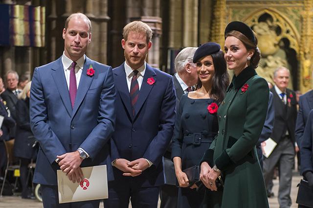 Кейт Миддлтон впервые высказалась о будущем ребенке Меган Маркл и принца Гарри