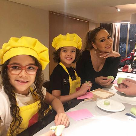 Мэрайя Кэри с детьми