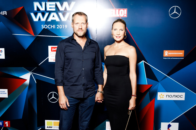 Елена Летучая с мужем Юрием Анашенковым