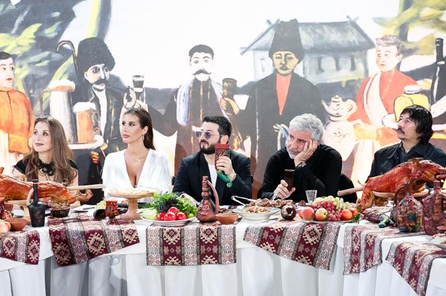 Ирина и Сосо Павлиашвили, Кети Топурия, Михаил Галустян и Байгали Серкебаев