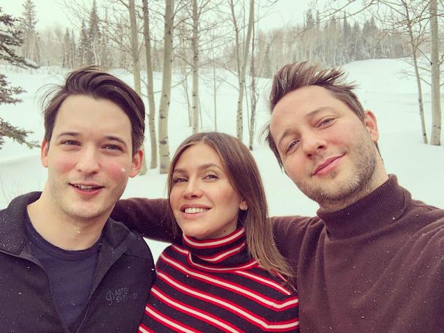Даша Жукова отдыхает в Аспене с Кейт Хадсон, Кэти Перри и Орландо Блумом
