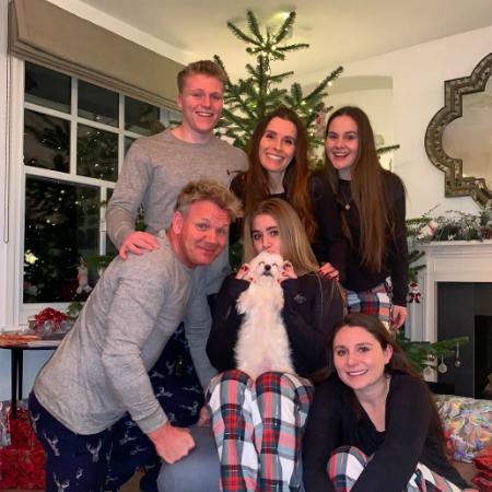 Гордон Рамзи с семьей