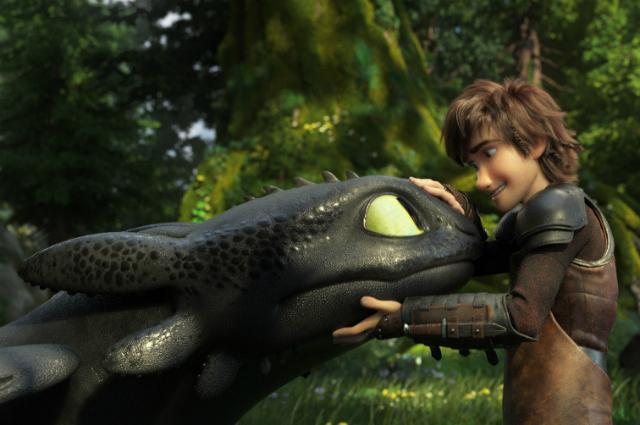 """Кадр из фильма """"Как приручить дракона 3"""""""