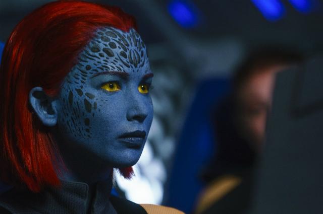 """Дженнифер Лоуренс. Кадр из фильма """"Люди Икс: Темный Феникс"""""""