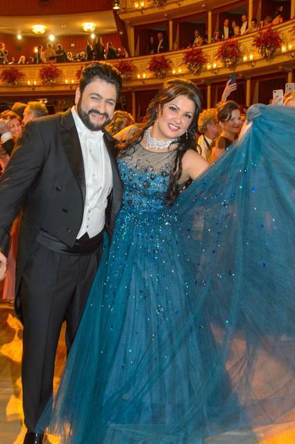 Анна Нетребко и Юсиф Эйвазов стали главными звездами Венского оперного бала