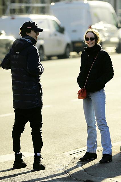 Тимоти Шаламе ушел от ответа на вопрос про свой роман с Лили-Роуз Депп