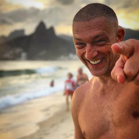 Беременная Тина Кунаки и Венсан Кассель проводят каникулы в Рио-де-Жанейро