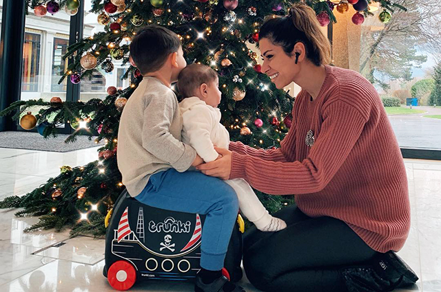 Беременная Виктория Лопырева отдыхает в Майами с отцом своего ребенка