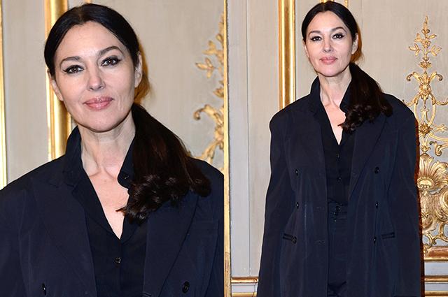 Элегантность во всем: Моника Беллуччи на спецпоказе фильма «Эйфория» в Париже