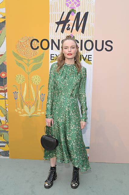 Кейт Босуорт в платье H&M Consicious