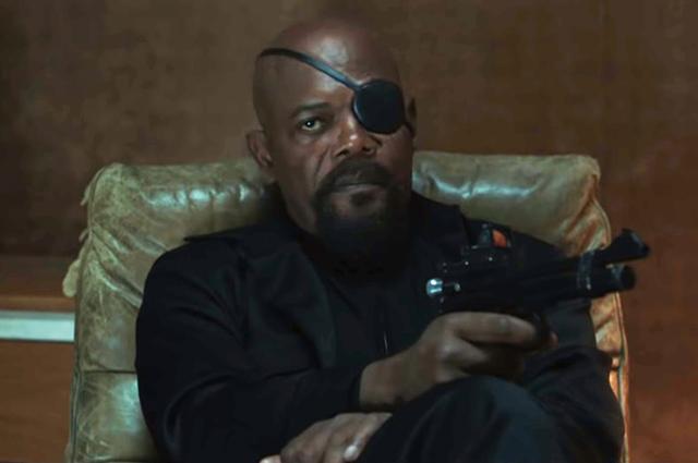 """Сэмюэль Л. Джексон в трейлере к фильму """"Человек-паук: Вдали от дома"""""""