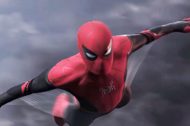"""Кадр из трейлера к фильму """"Человек-паук: Возвращение домой"""""""