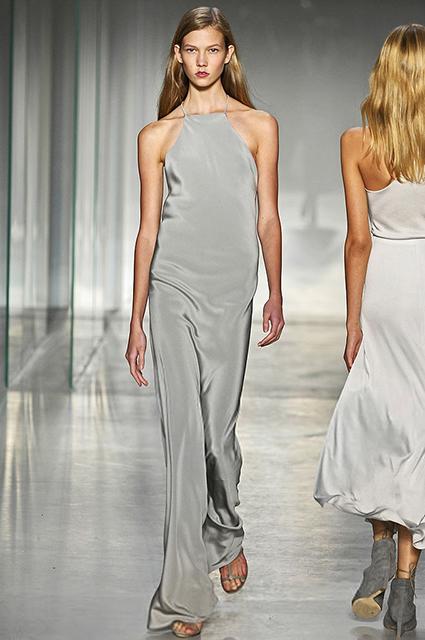 Карли Клосс на показе Calvin Klein сезона весна/лето 2008