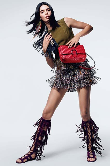 Кендалл Дженнер снялась в новой кампании Longchamp