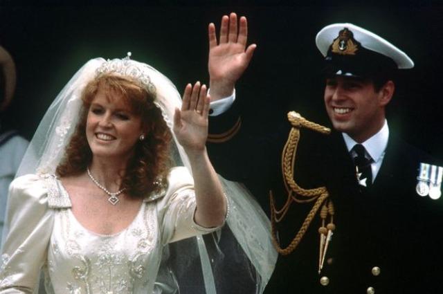 Сара Фергюсон и принц Эндрю (1986 год)