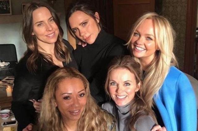 Виктория Бекхэм дала интервью о воссоединении Spice Girls, тренировках и сплетнях