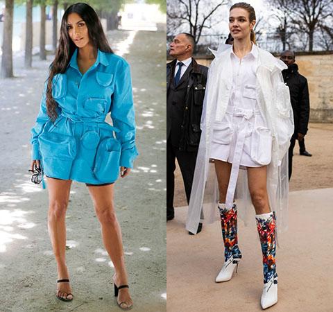 Модная битва: Ким Кардашьян против Натальи Водяновой