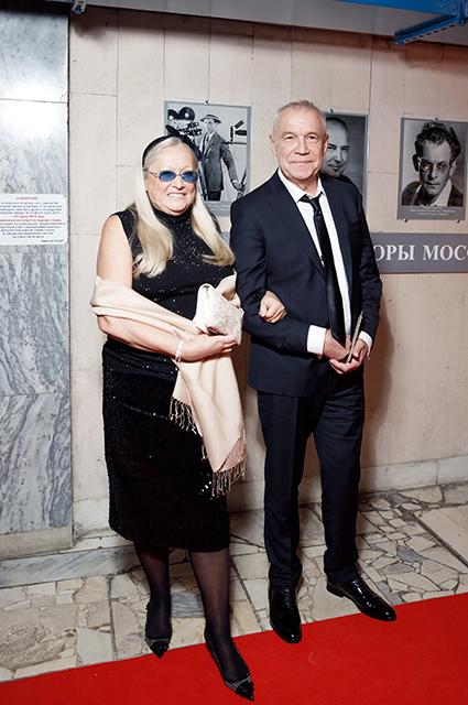 Татьяна Михалкова и Сергей Гармаш