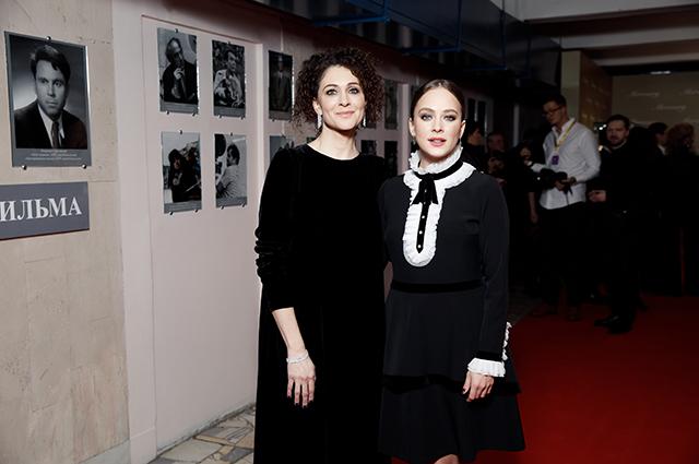 Ксения Раппопорт и Аглая Тарасова