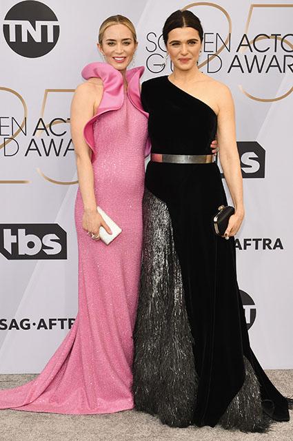 Кэтрин Зета-Джонс, Марго Робби, Леди Гага и другие на красной дорожке SAG Awards — 2019