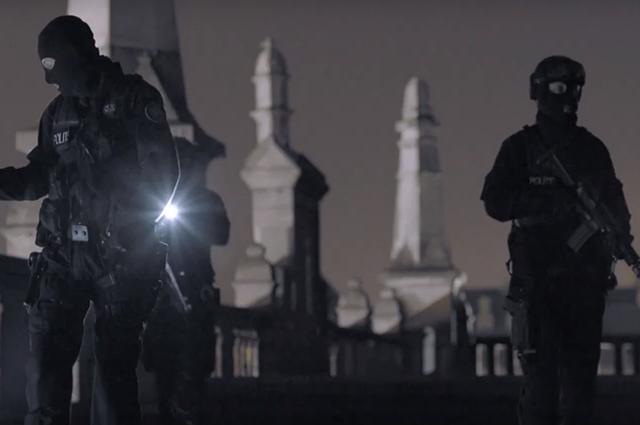 Линдси Лохан в роли первой леди в трейлере фильма «Среди теней»