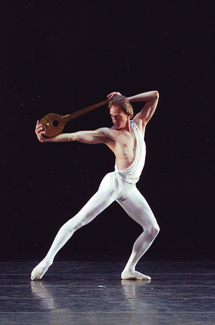 "Дэвид Холберг в балете ""Аполлон"""