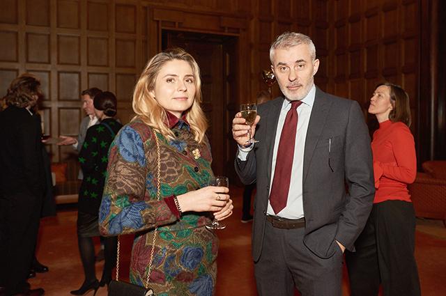 Вадим Дымов с женой