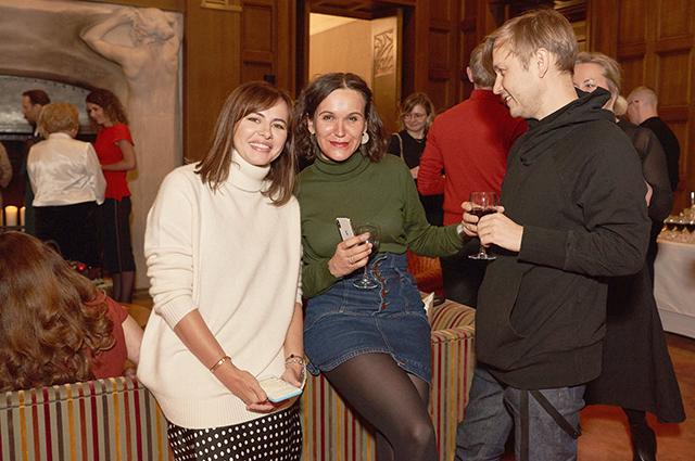 Оксана Лаврентьева и гости вечера