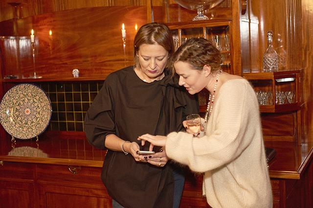 Маша Федорова и Елена Бородач