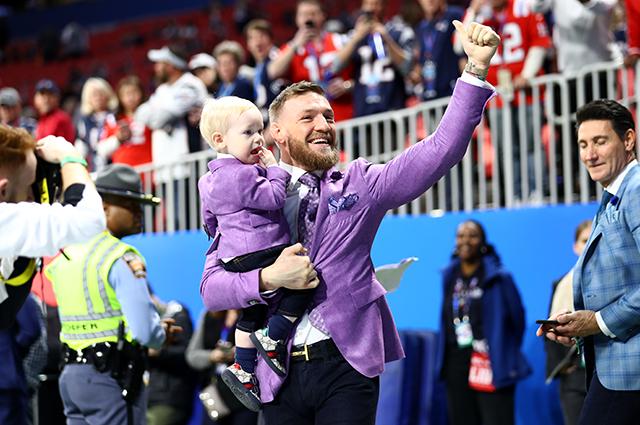 Конор Макгрегор с сыном