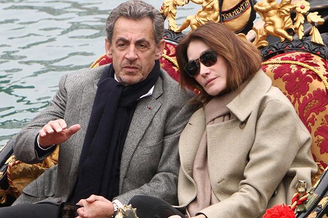 Карла Бруни и Николя Саркози отметили годовщину свадьбы в Венеции