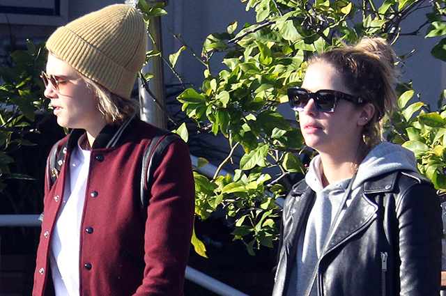 Кара Делевинь и Эшли Бенсон на свидании в Лос-Анджелесе