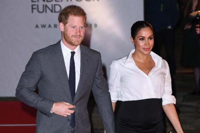 Меган Маркл и принц Гарри приехали на церемонию вручения премий Endeavour Fund Awards