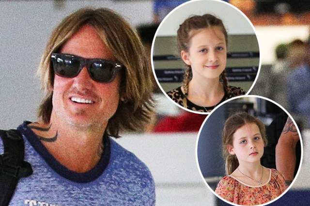 Кит Урбан с подросшими детьми в Сиднее: новые фото дочек Николь Кидман