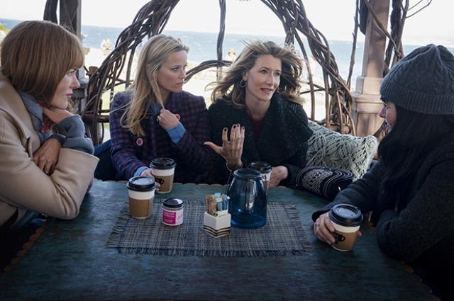Риз Уизерспун показала новые фото со съемок сериала «Большая маленькая ложь»
