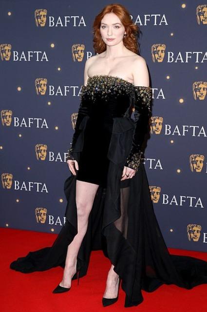Эдди Редмэйн с супругой Ханной Бэгшоу, Том Хиддлстон и другие на ужине перед премией BAFTA